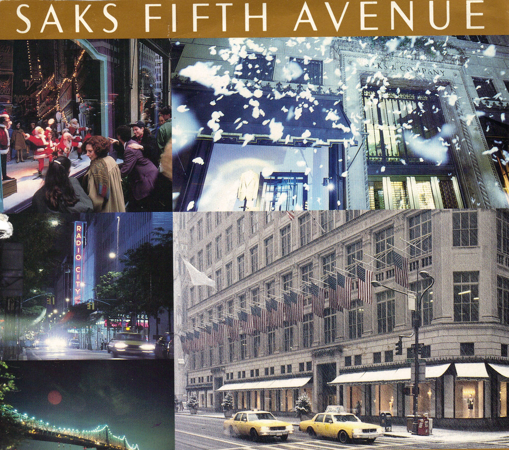 Fifth Avenue Catalog >> Saks Fifth Avenue Christmas Catalog Patricksmercy Flickr