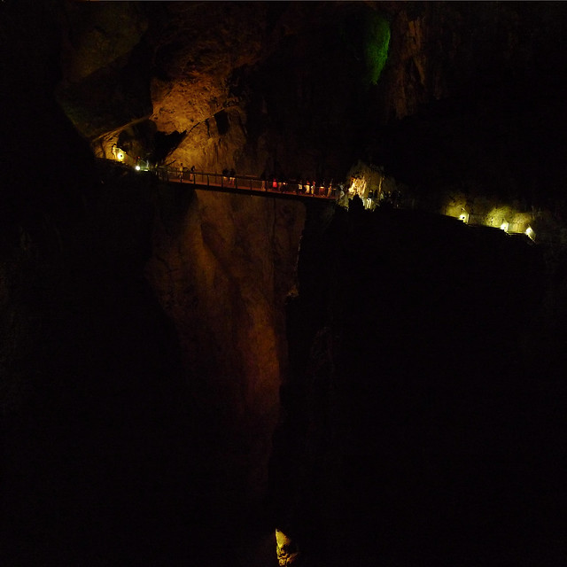 A journey to the center of the Earth at the Škocjan Caves