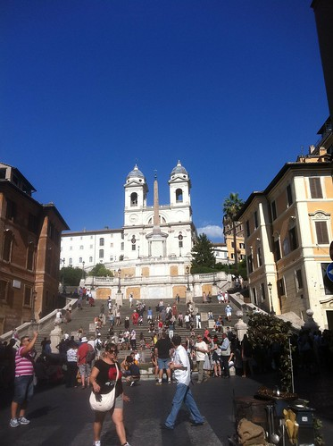 At the famous Spanish Steps | by Shrisha R