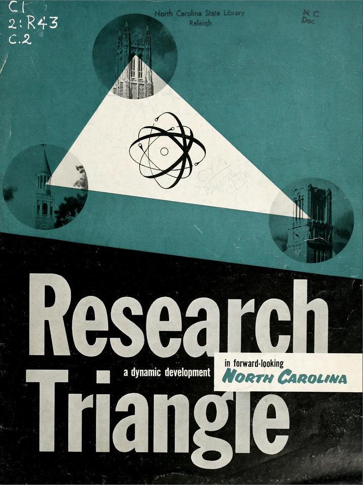 North Carolina's research triangle: spearhead of a scienti