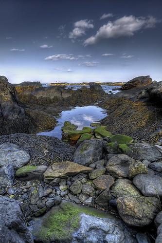 ocean rhodeisland newport shore reflectingpool cliffwalk handheldhdr