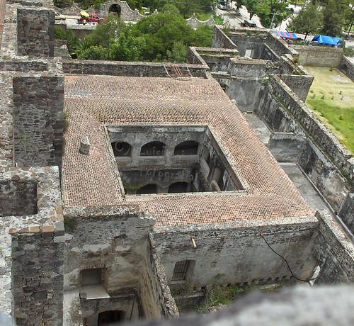 Ex-Convento Cuauhtinchan desde el Campanario - Puebla - México