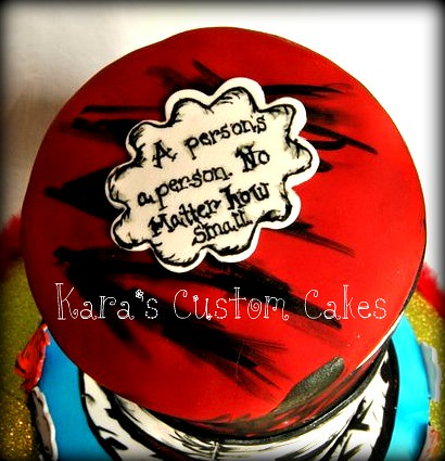 Dr. Seuss baby shower cake