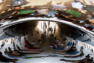 Reflections Trapped Inside Cloud Gate | by vxla