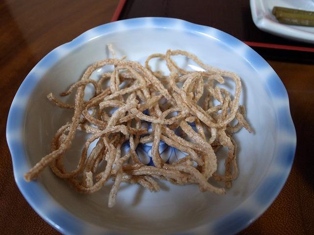 <p>あげ蕎麦</p>