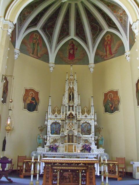 St. Rose Catholic Church, St. Rose, OH