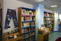 Estanterias de libros y libros de bolsillo