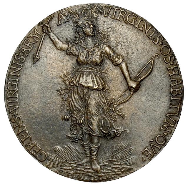 Niccolò Fiorentino - Medal 2 on Giovanna degli Albizzi Tornabuoni, verso [1486]