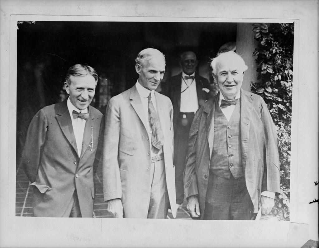 Thomas Edison Henry Ford and Harvey Firestone 1931 Photo Print