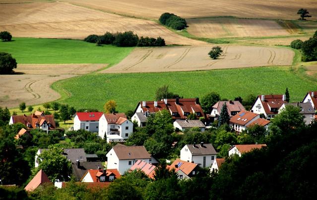 view from Altenburg near Bamberg