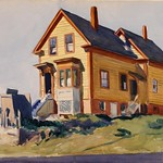 Edward Hopper - House in Italian Quarter [1923]