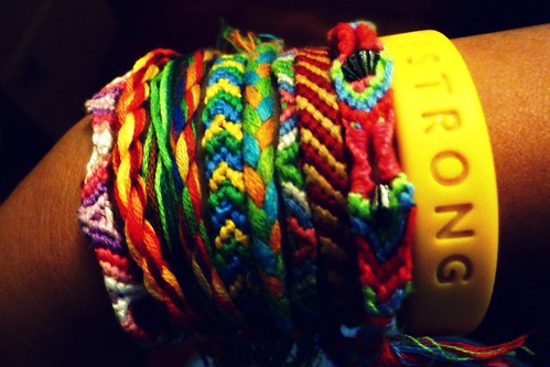 friendship bracelets | by silent silk