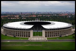 Olympic Stadium, Berlin   by Dr Gray