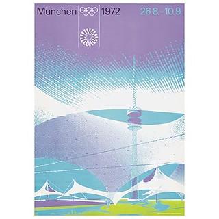 Munich 1972 Olympic poster