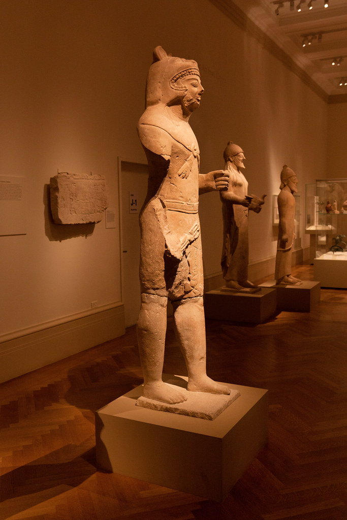 Cypriot, Archaic; 530-520 BC  The Metropolitan Museum allows photo shooting providing there is no financial gain.  Please respect their policy