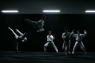 Taekwondo performance by K-Tigers | by KOREA.NET - Official page of the Republic of Korea