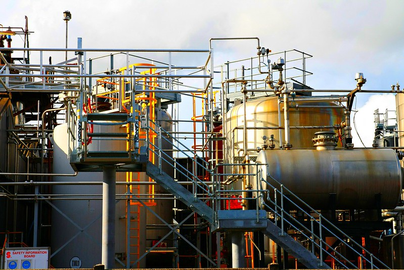 chemical works