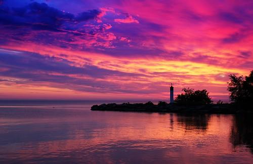 ontario sunrise gimp lakeontario grimsby