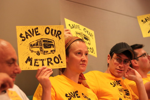 Save our Metro!
