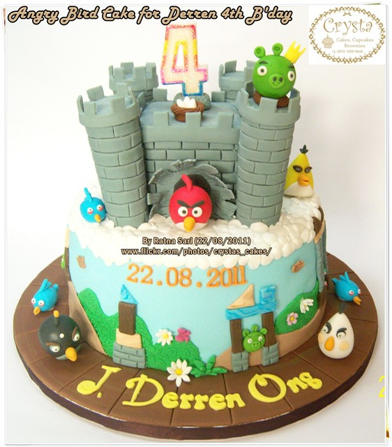 Angry Bird Cake for d