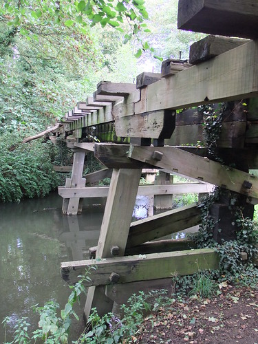Trestle Bridge Wickham Bishops Witham To Maldon Line 27th August 2011 | by Cooperail