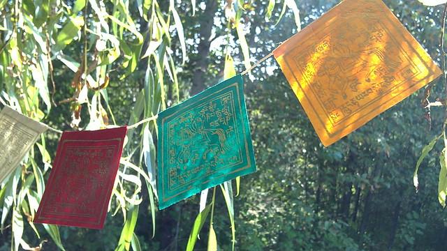 Paper Prayer Flags