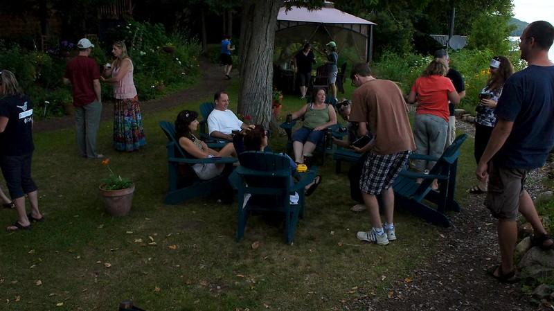 Gathering in the Garden