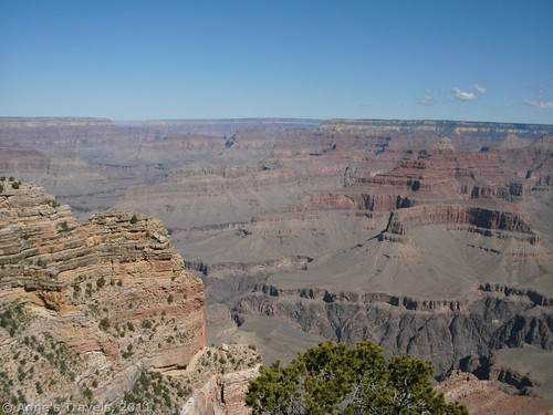 A small part of the view from Powell Point, Grand Canyon National Park, Arizona