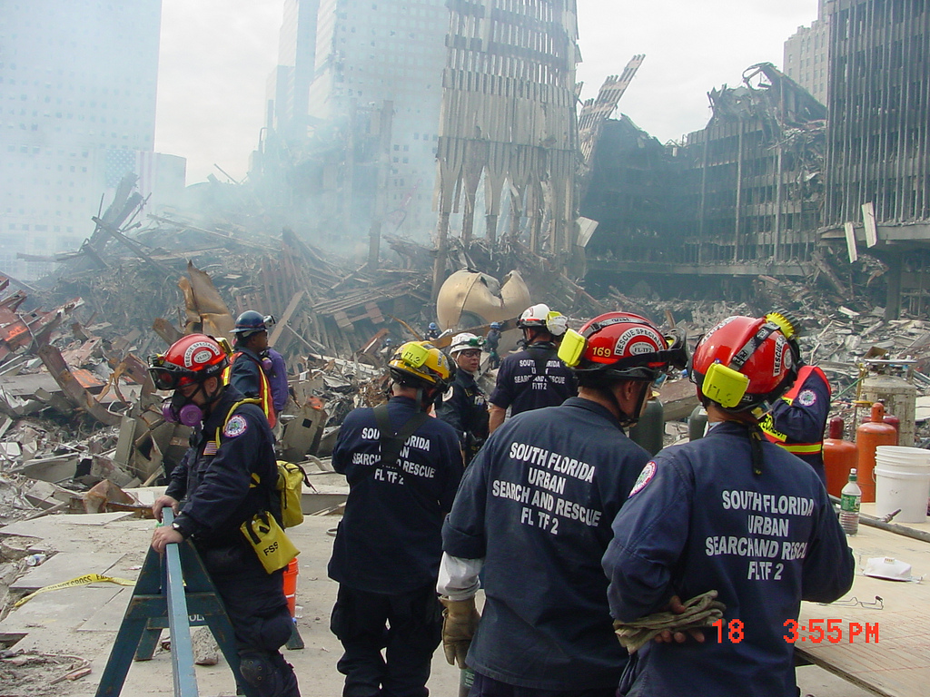 Emergency Response after 9/11 attacks