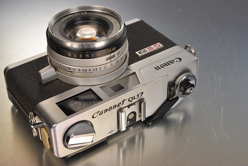 Canon Canonet QL17 G-III | by RaúlM.