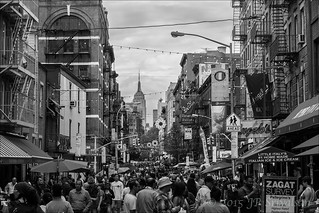 The crowds in Little Italy | by Jean-Paul_S