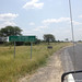 Day 9 - This is a highway in Botswana. Read the road sign!