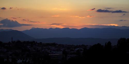 vacation holiday mountains night evening macedonia mk balkan skopje 2015