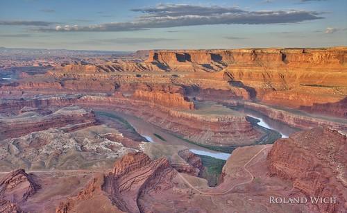 park horse usa sunrise point dead utah state canyonlands moab