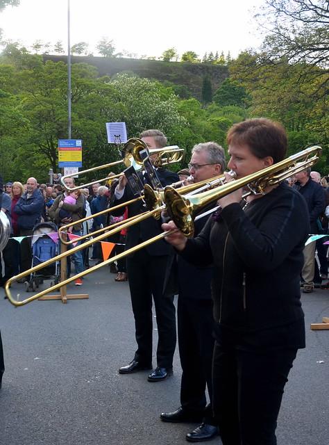 Tromboner i Uppermill
