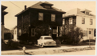 1620 Milvia St. Only picture found of original front of houses on 1600 block of Milvia | by Anthro136k Who Owns the Past