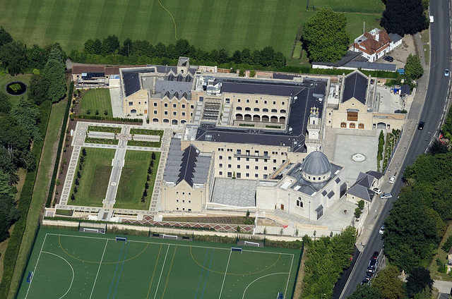 The Oxford Centre for Islamic Studies aerial view