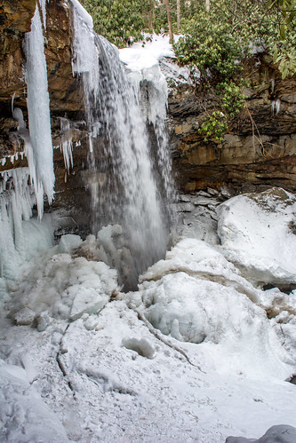 waterfalls ohiopyle fayettecounty westernpa pennsylvania cucumberfalls nikon d7100 winter ice