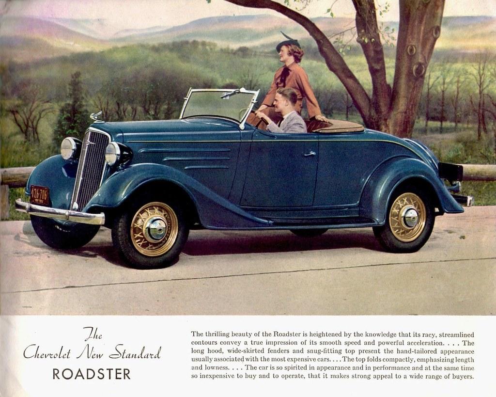 1935 Chevrolet Standard Six Roadster | Alden Jewell | Flickr