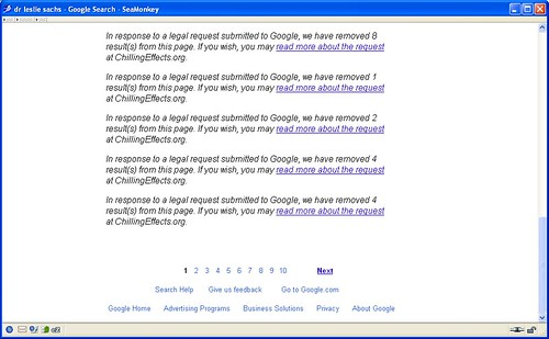 Google Internet Censorship - Censure d'Internet par Google - Internet censuur door Google