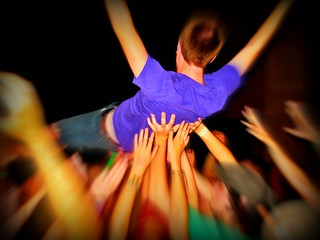 crowd surfer | by Photos by Mavis
