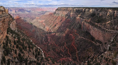 Grand Canyon National Park: Hermit Rd First Trail View 0174