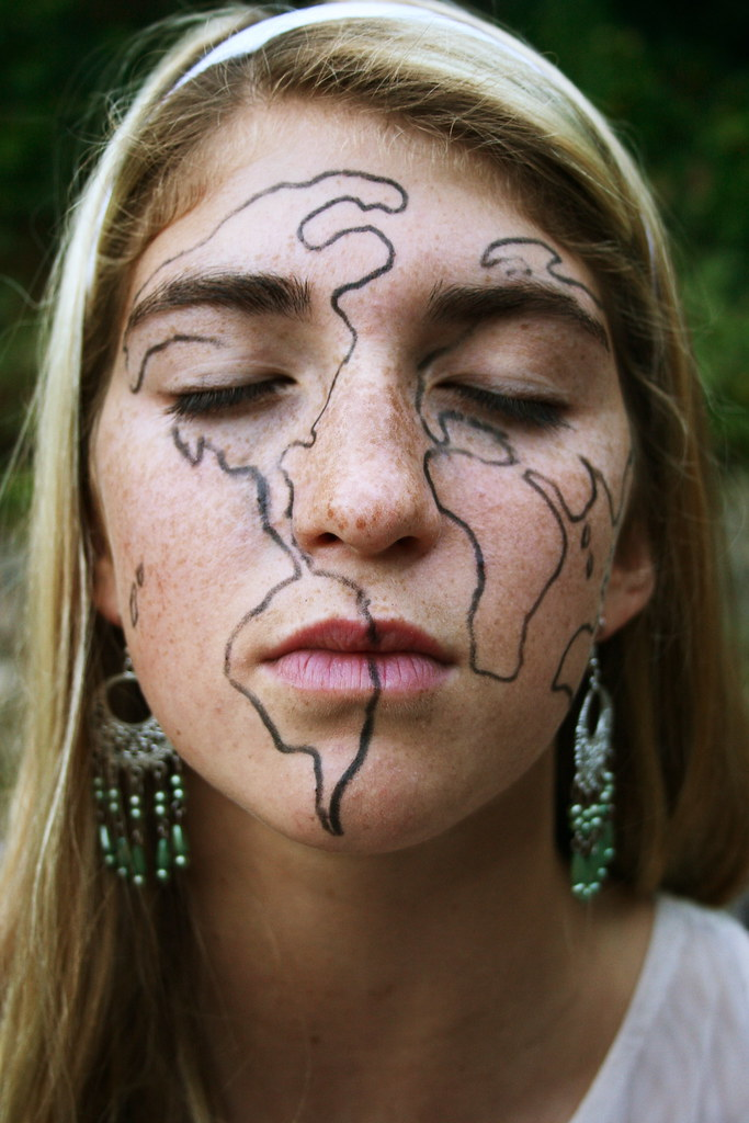 Her Face Is A Map Of The World Www Youtube Com Watch V 9ae Flickr