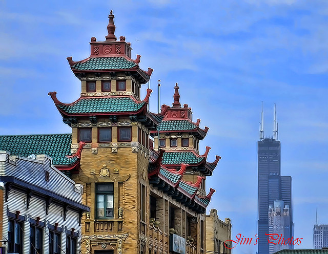The Pui Tak Center, Chicago's China Town