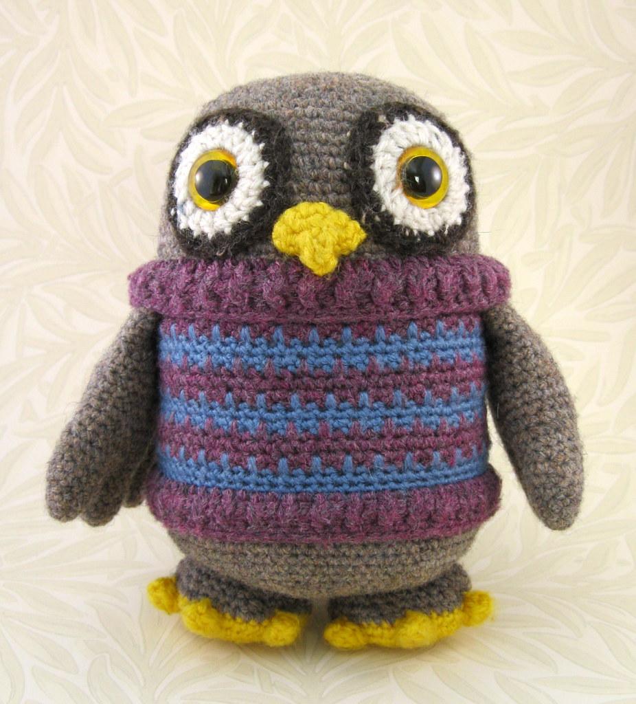 Owl Stuffy | Owl crochet patterns, Crochet, Cute crochet | 1024x926