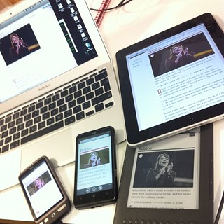 Surrounding myself with screens | by adactio