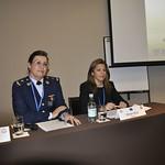 Wed, 07/20/2011 - 16:17 - Panel de Investigación: Igualdad de Género y Transversalidad: La Creciente Incorporación de la Mujer a las Fuerzas Armadas en América Latina.  De izquierda a derecha: Violeta Brozón (Paraguay), Miriam Mora (Uruguay)
