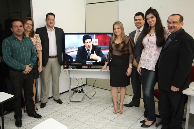 Inauguração dos Cursos Telepresenciais na FESAC