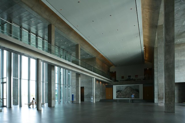 Tadao Ando, Modern Art Museum of Fort Worth, completed 2002