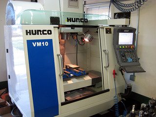New baby boy, our Hurco VM10 machining center  | New VM10 ma